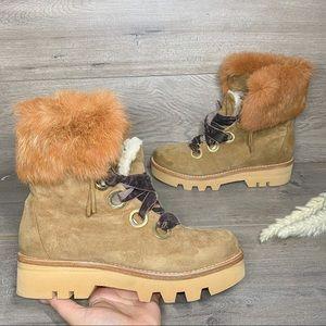 Rachel Zoe Vayl Kid Suede Ankle Boots